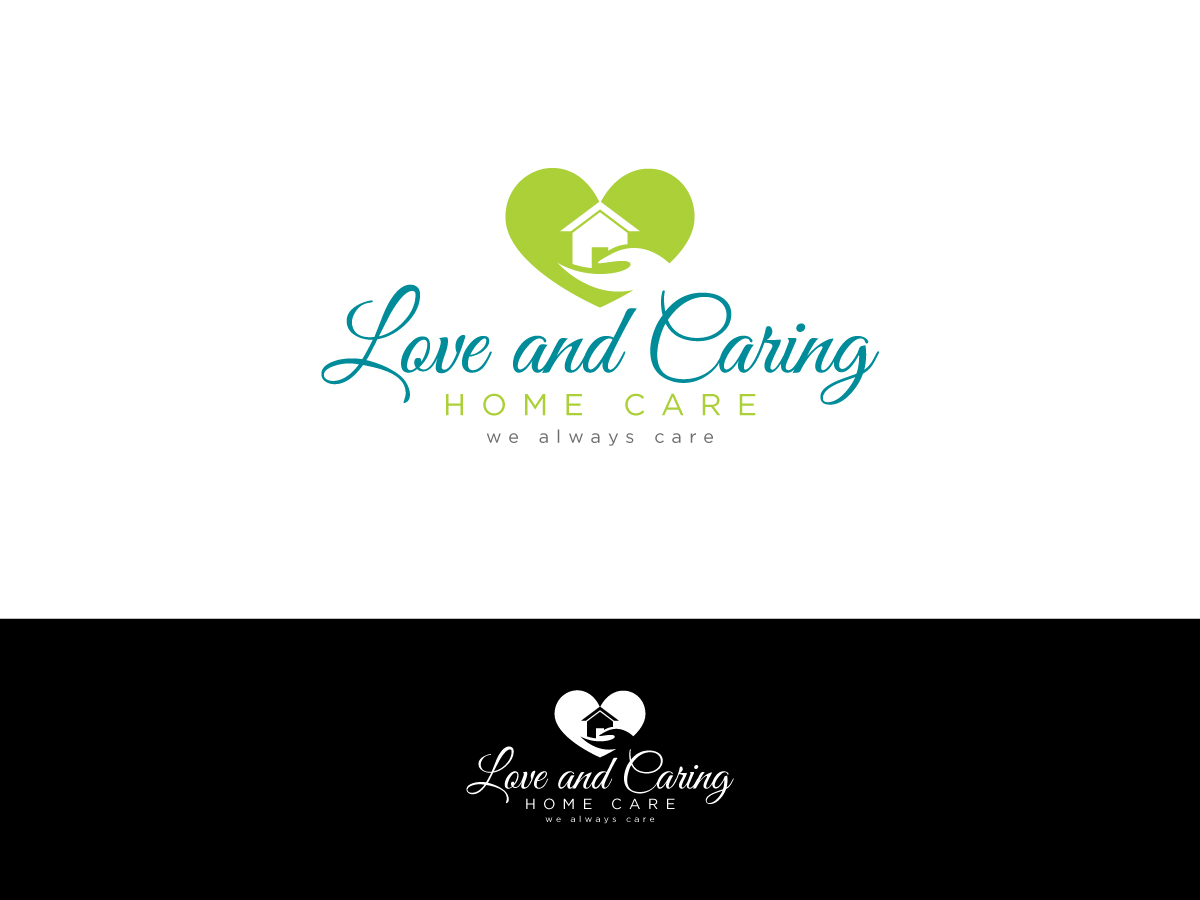 Professional elegant logo design for charlotte darko by kimdesigner brilliant webdesign - Home health care logo design ...