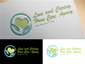 Logo Design by georgellosala - LOVE AND CARING HOME CARE,AGENCY
