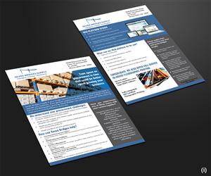 Flyer Design by  Esolbiz - Distribution company seeks to update marketing  ...