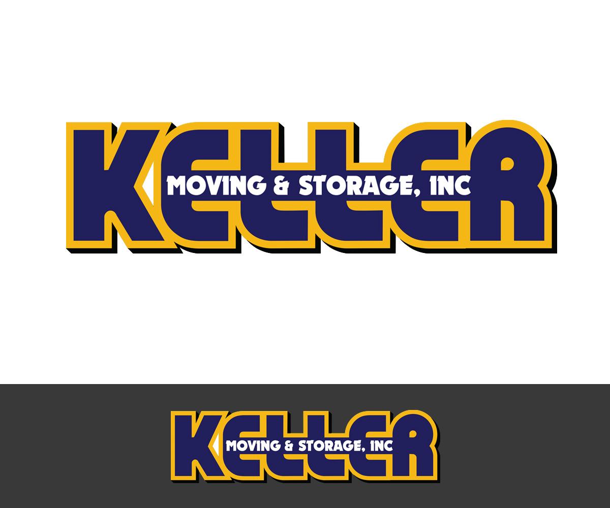 Modern Professional Moving Logo Design For Keller Moving