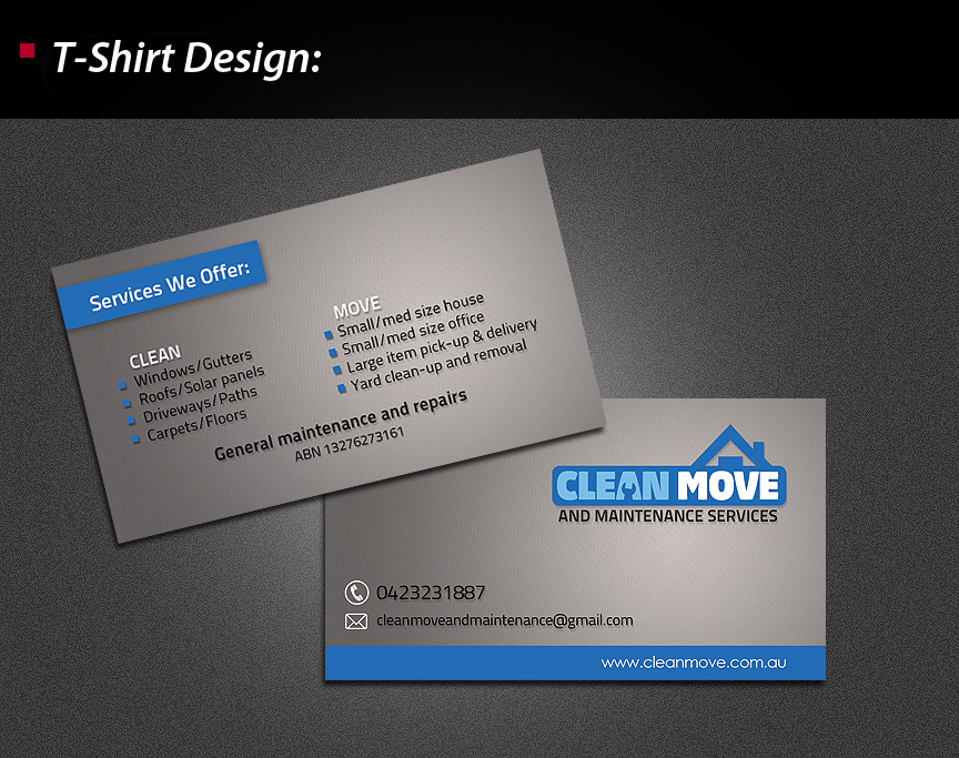 Business Card Design for Steve Hilton by wolfgfxdesign | Design ...