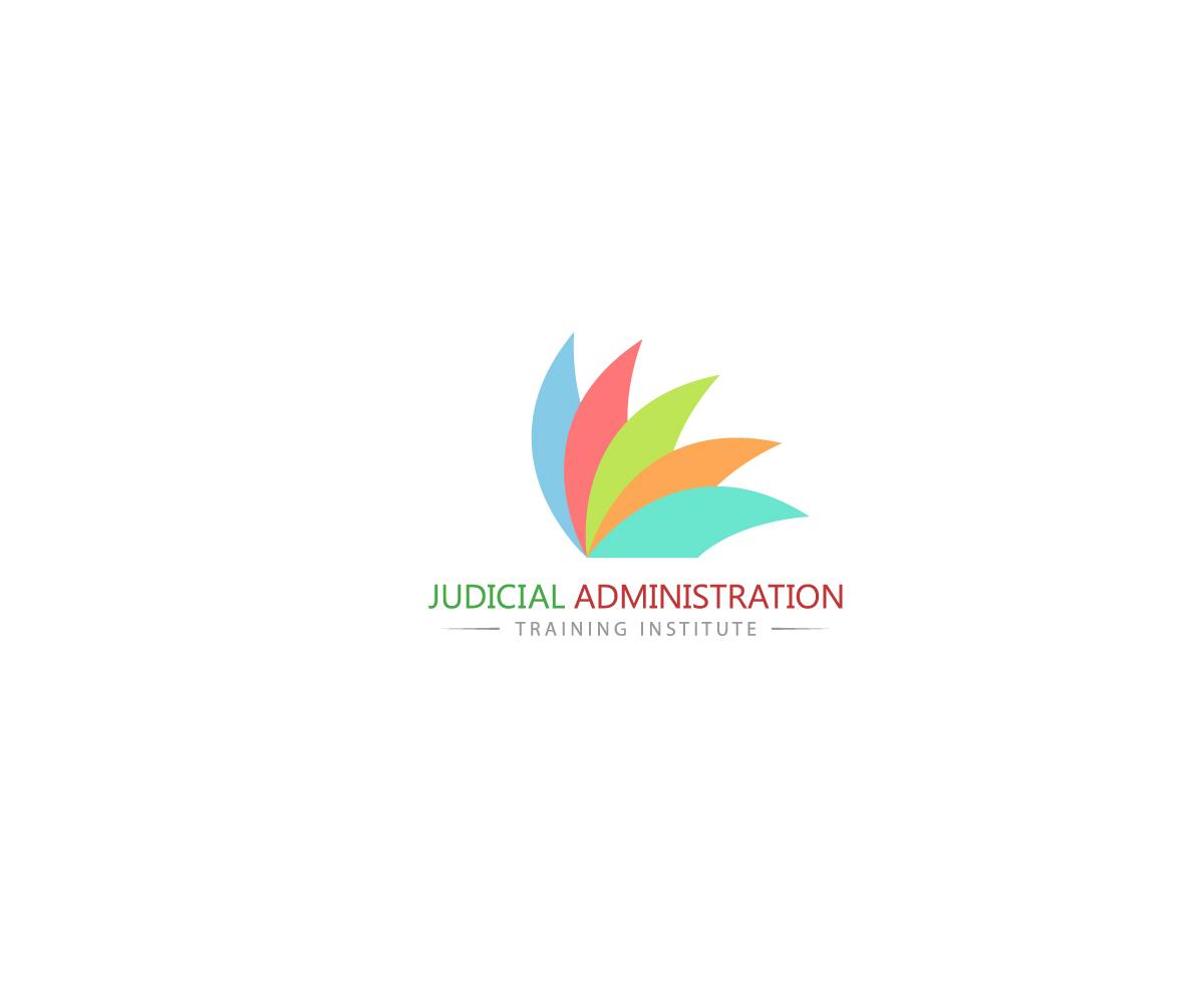 colorful elegant training logo design for judicial