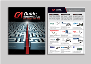 Brochure Design by  Adylhere - Guide Automation - DONT GET LOST IN THE MAZE!