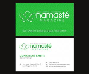 Visitenkarten Designs Yoga 21 Visitenkarten Zu Browsen