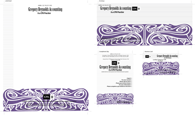 Crowdfunding Stationery Design 8343