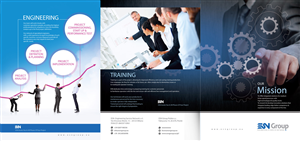 Flyer Design by uk - Company folder for engineering company  in pack ...