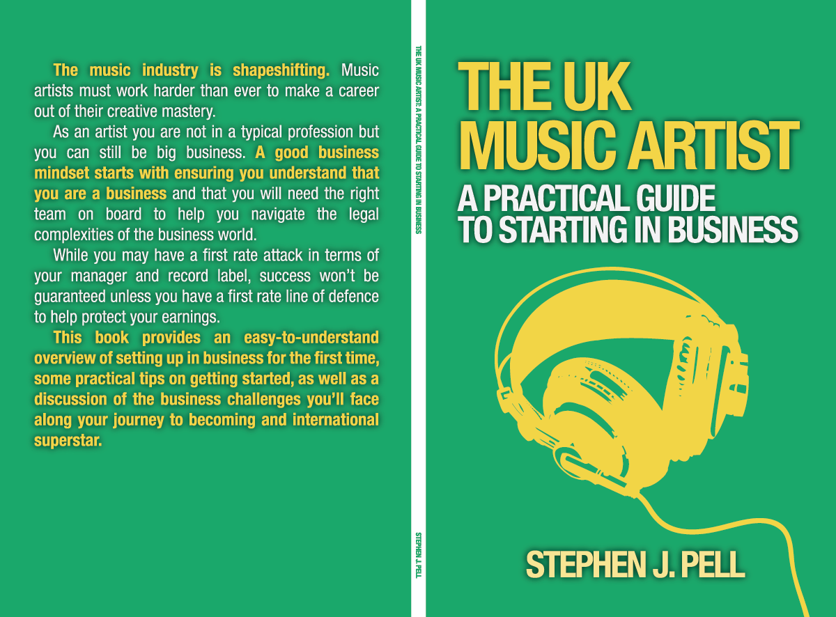 Music Book Cover Design ~ Modern fett book cover design for pell artists limited by