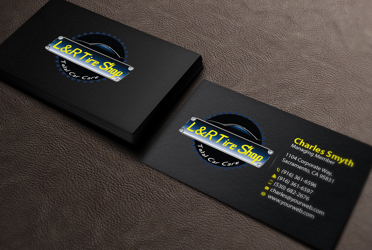 Tire store business cards gallery card design and card template tire store business cards magicingreecefo Choice Image