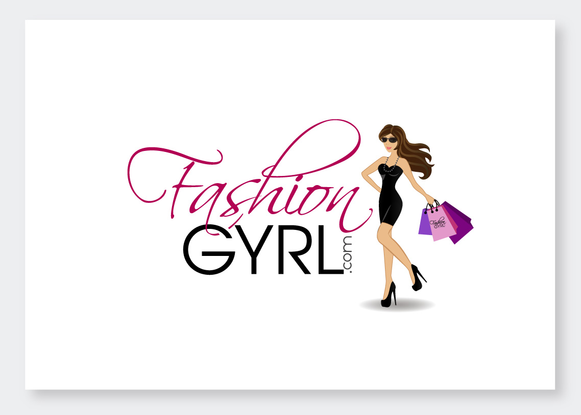 feminine elegant clothing logo design for fashion gyrl