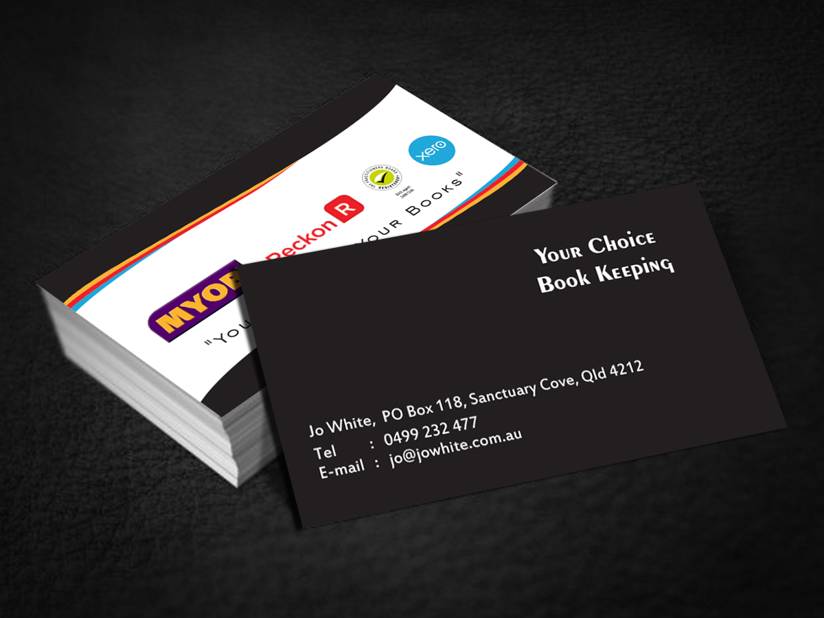 Bookkeeper business cards image collections free business cards elegant modern business card design for your choice bookkeeping business card design by cn graphic for magicingreecefo Choice Image
