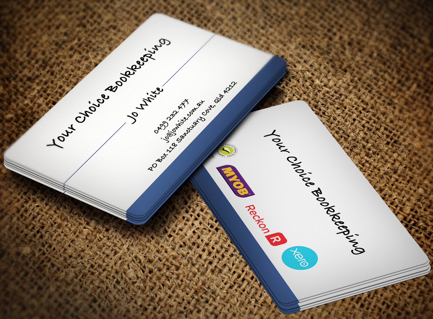 Elegant modern business card design for your choice bookkeeping business card design by lanka ama for your choice bookkeeping business cards design 6025714 magicingreecefo Choice Image