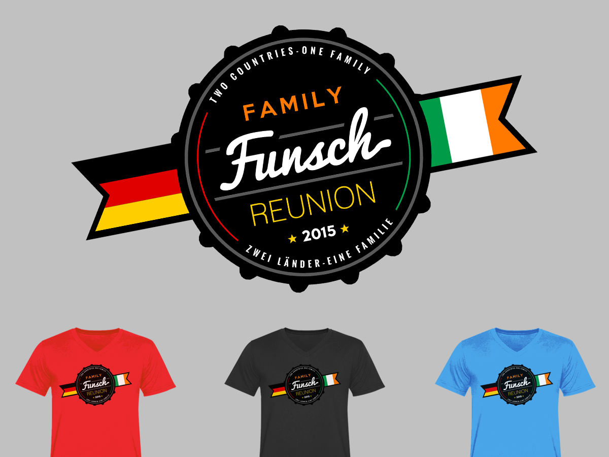 Funsch Family Reunion 2015 Beach Towel Design 38 T Shirt Designs For A Business In United Kingdom