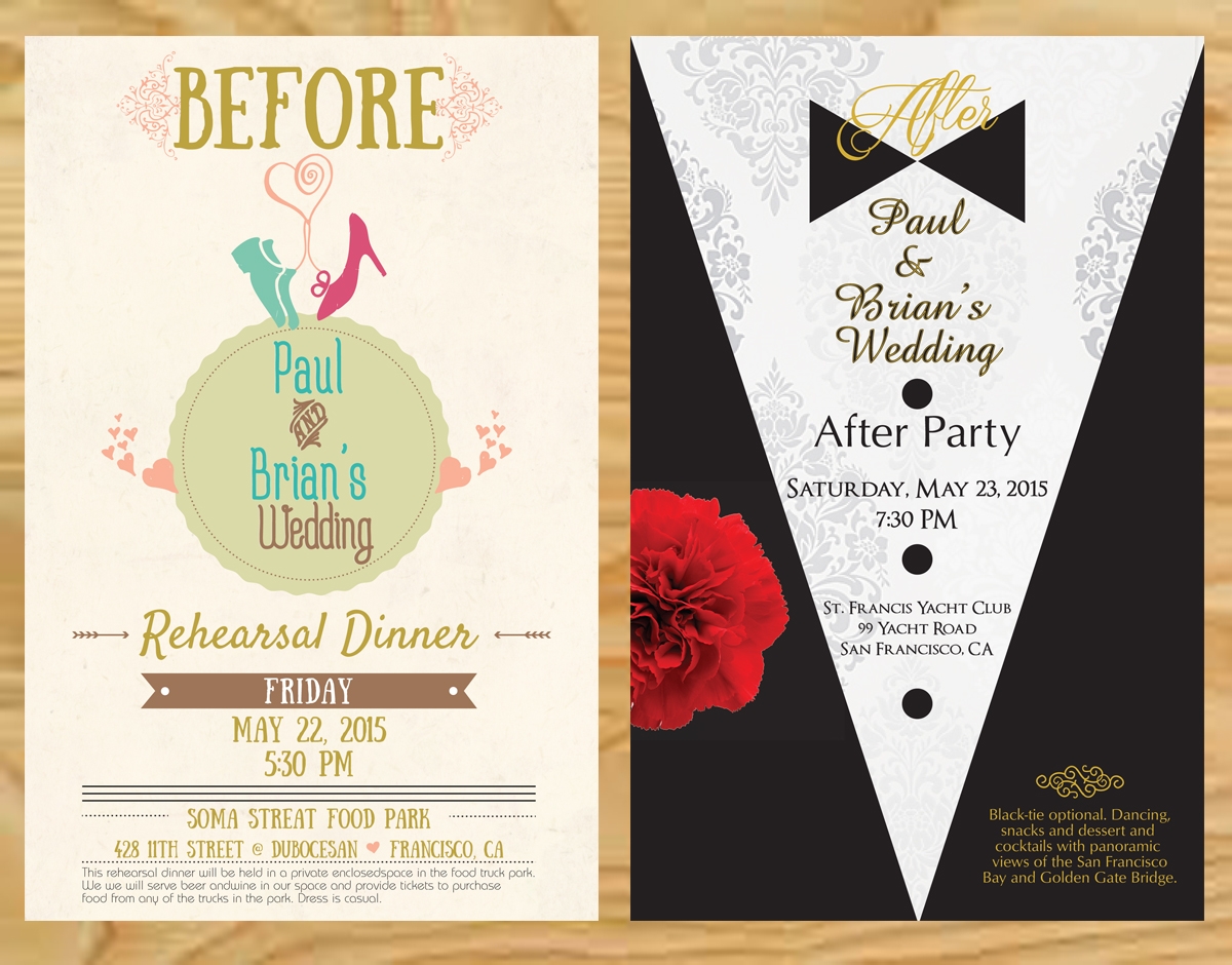 Post Wedding Party Invitations gangcraftnet – After Rehearsal Dinner Party Invitations