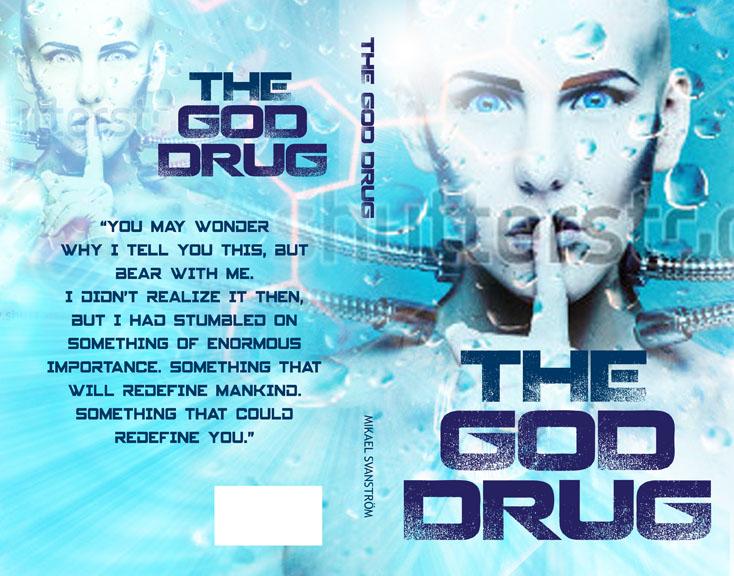 Masculine, Bold, Drug Book Cover Design For Mikael