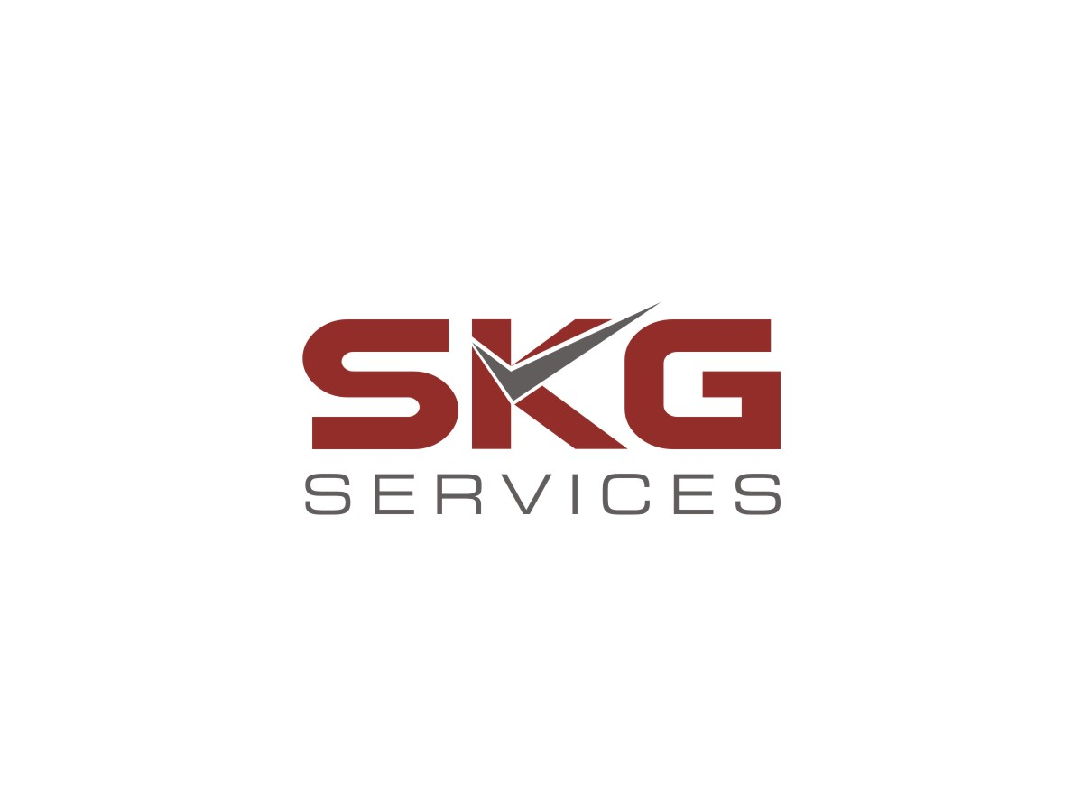 serious professional accounting logo design for skg services by