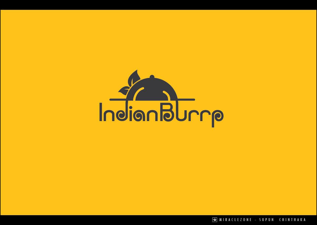 Serio Tradicional Restaurant Diseno De Logo For Indian Burrp Por Miraclezone Diseno 6015187