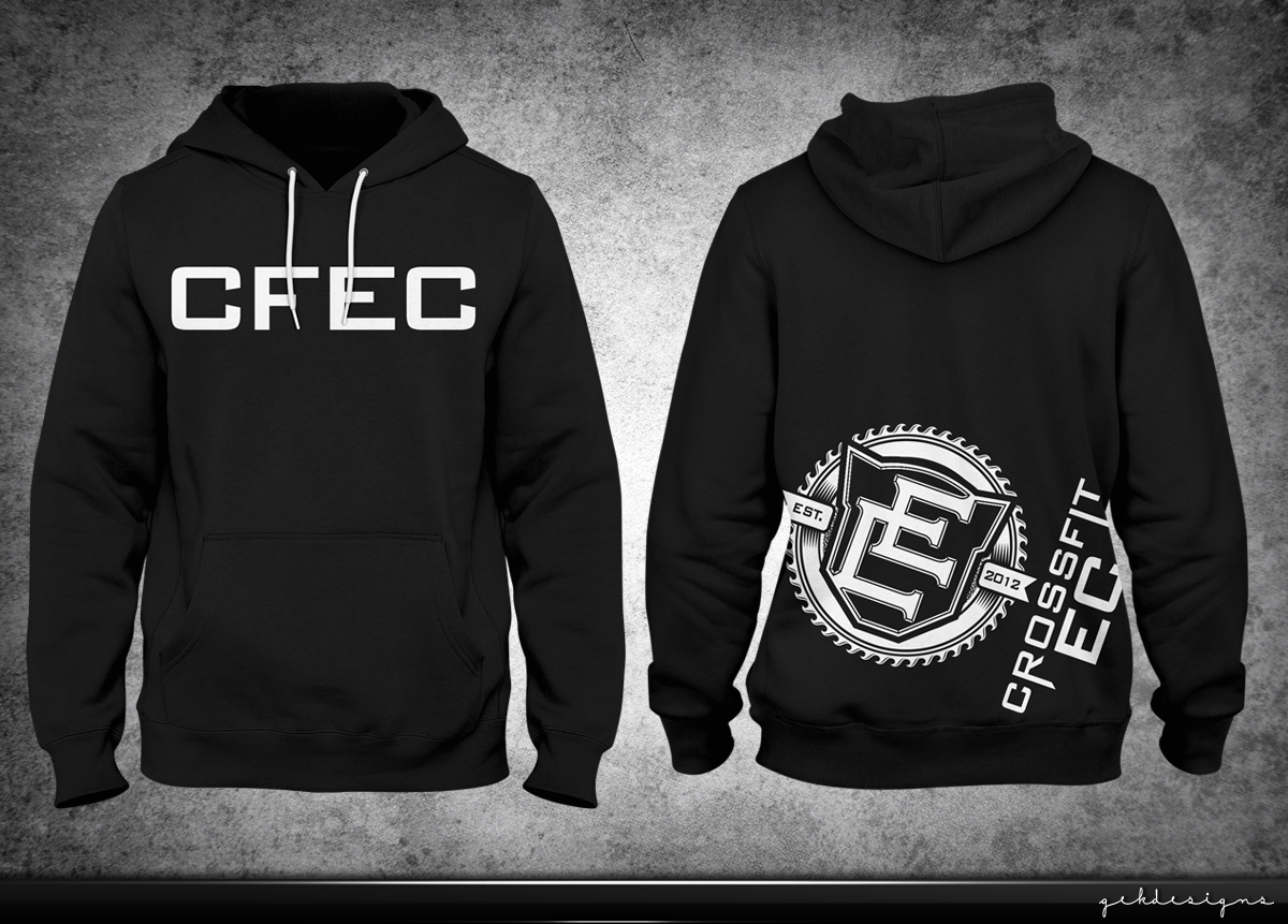 c0fc38c70 Hoodie Design Required for CrossFit Gym   25 T-shirt Designs for a ...