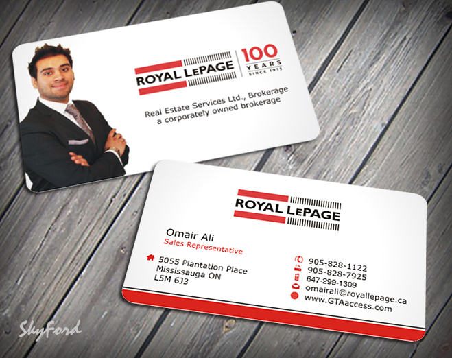 Modern upmarket real estate business card design for a company by business card design by skydesign for this project design 1622901 reheart Choice Image