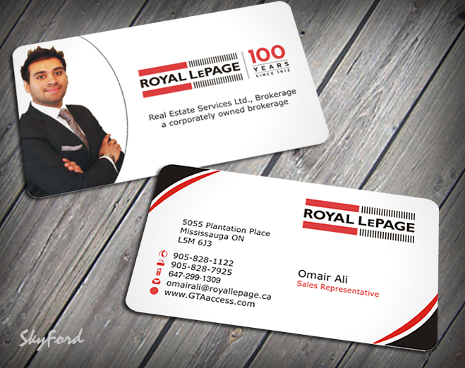 Modern upmarket real estate business card design for a company by business card design by skydesign for this project design 1622913 reheart Images