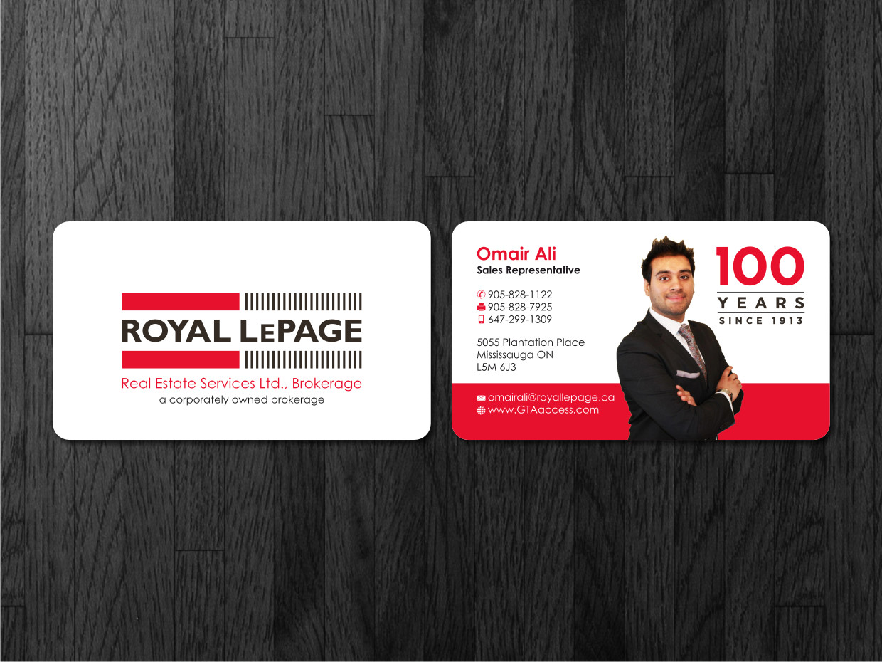 Modern upmarket real estate business card design for a company by business card design by atvento graphics for this project design 1621986 reheart Image collections