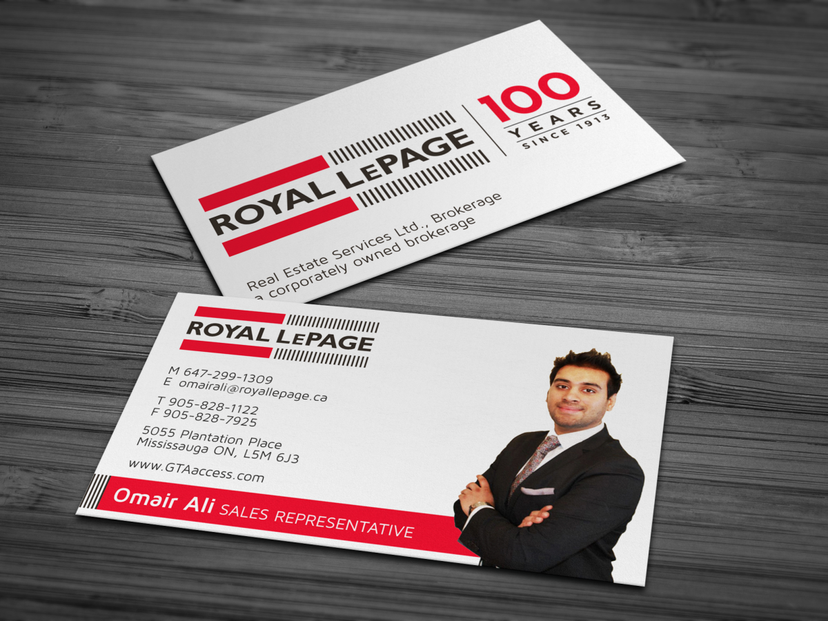 Modern upmarket real estate business card design for a company by business card design by hypdesign for this project design 1617895 reheart Choice Image