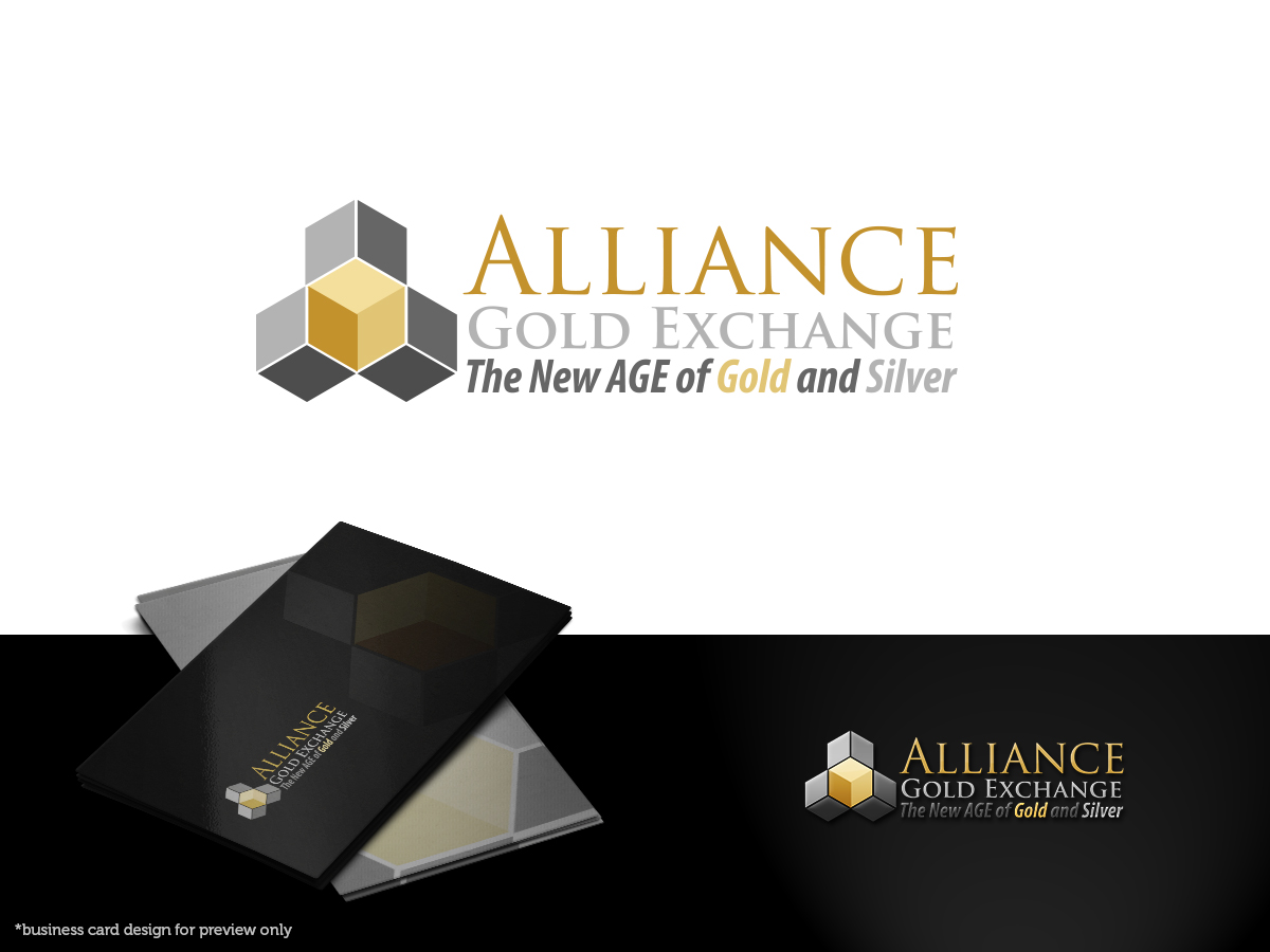 Business Logo Design for Alliance Gold Exchange - The New AGE of ...