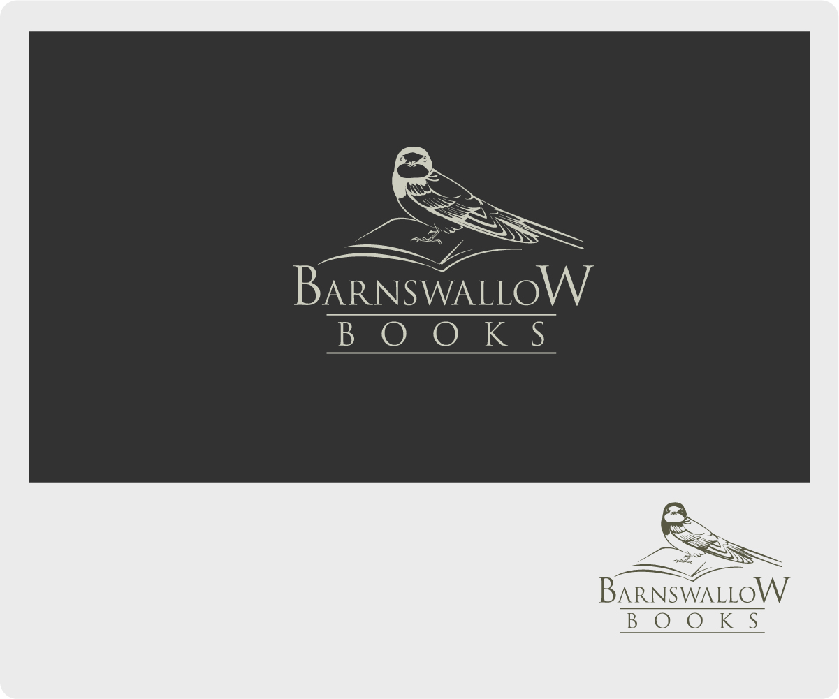 design de logo audacieux traditionnel pour barnswallow books par basanti design 6595205. Black Bedroom Furniture Sets. Home Design Ideas