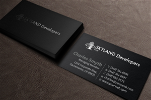business card design by mediaproductionart for this project design 6022125 - Contractor Business Cards