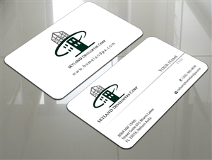 Luxury Construction Business Card Ideas Crest Contractor Cards