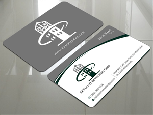 141 Modern Masculine Contractor Business Card Designs for a ...