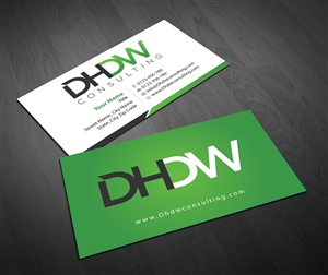 Tech Company Business Card Design 1672975