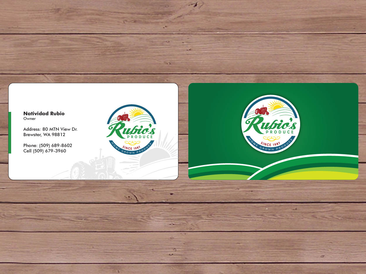 Elegant, Playful Business Card Design for Enrique Rubio by Priyo ...