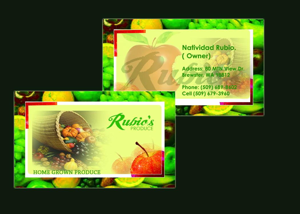 Elegant, Playful Business Card Design for Enrique Rubio by Asad ...