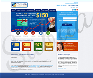 Landing Page Design by Subaa