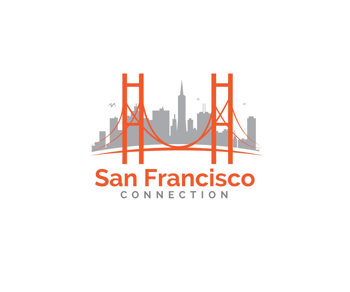 Modern fett logo design for san francisco connection in for Design companies in san francisco