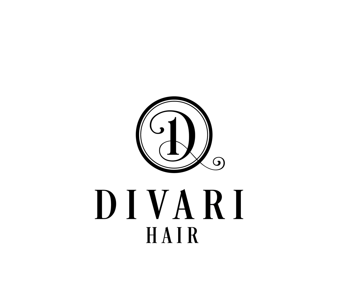 Preferred Masculine, Colorful, Hair Logo Design for Divari Hair / by kicha  FM63