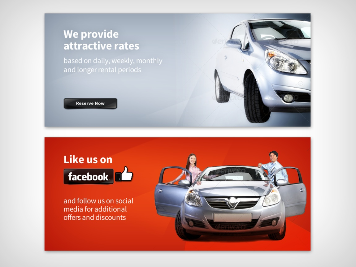It Company Banner Ad Design For Quality Rent A Car Llc By Mnm Design 1629972