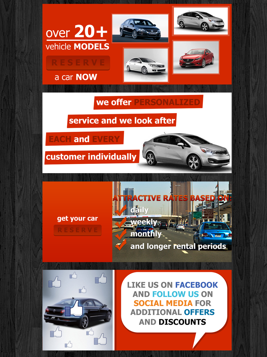 It Company Banner Ad Design For Quality Rent A Car Llc By Straw Hat Design 1636949