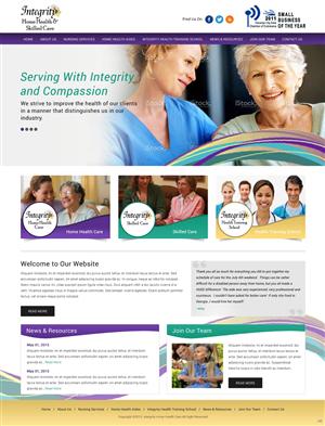 31 Bold Serious Home Health Care Web Designs for a Home Health ...
