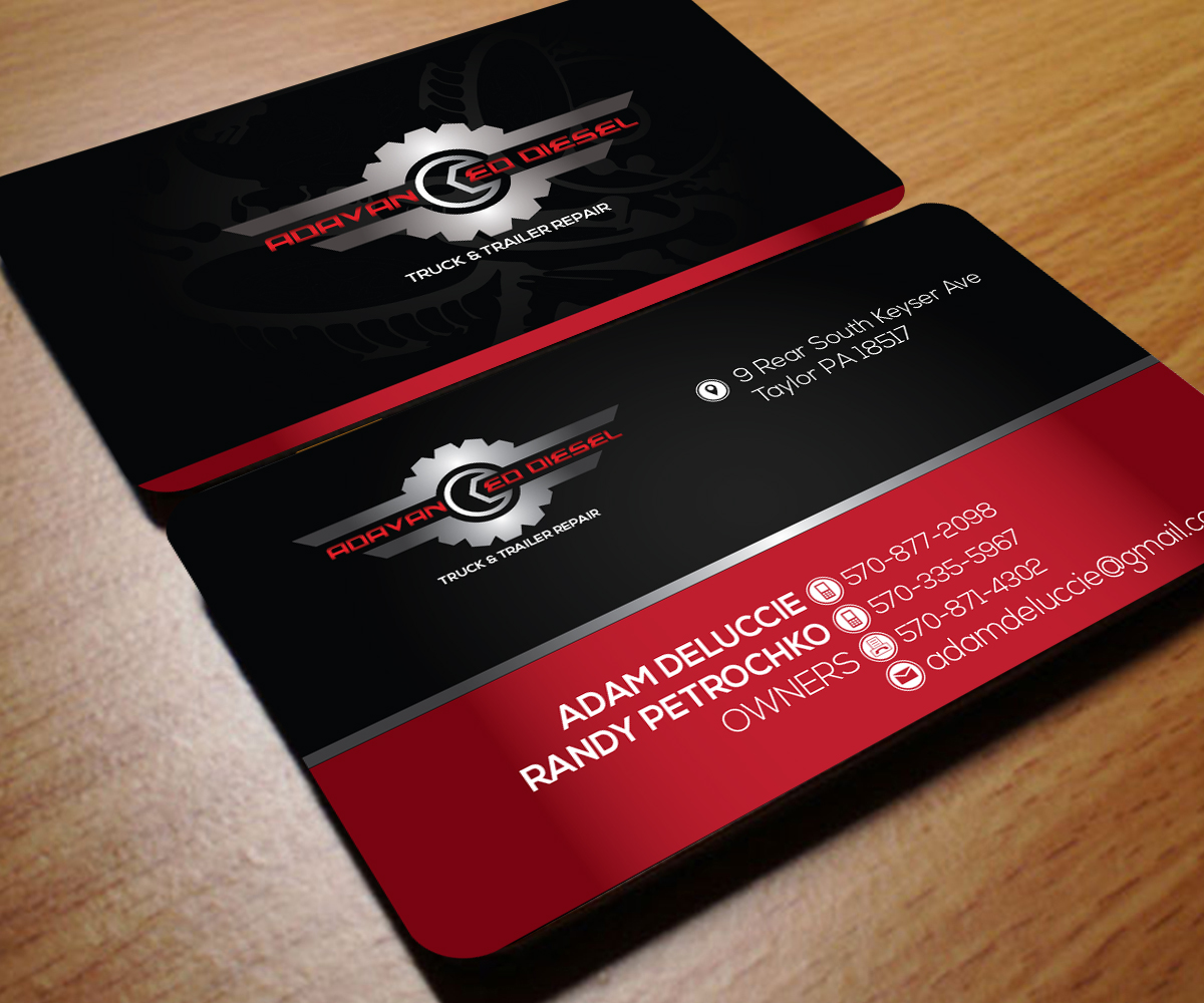 Delighted Mechanic Business Cards Gallery - Business Card Ideas ...