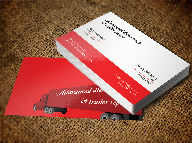 Masculine, Modern Business Card Design for adam deluccie by Lanka ...