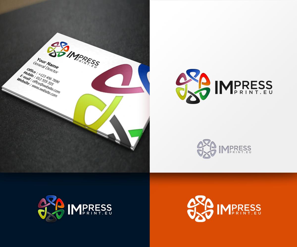 Serious, Modern, Printing Logo Design for Impressprint or