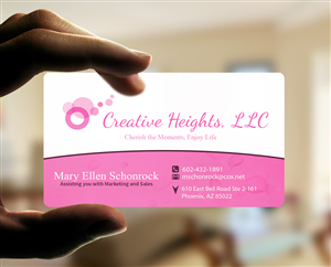 Business Card Design By Duvaunec For Creative Heights Llc 6147350