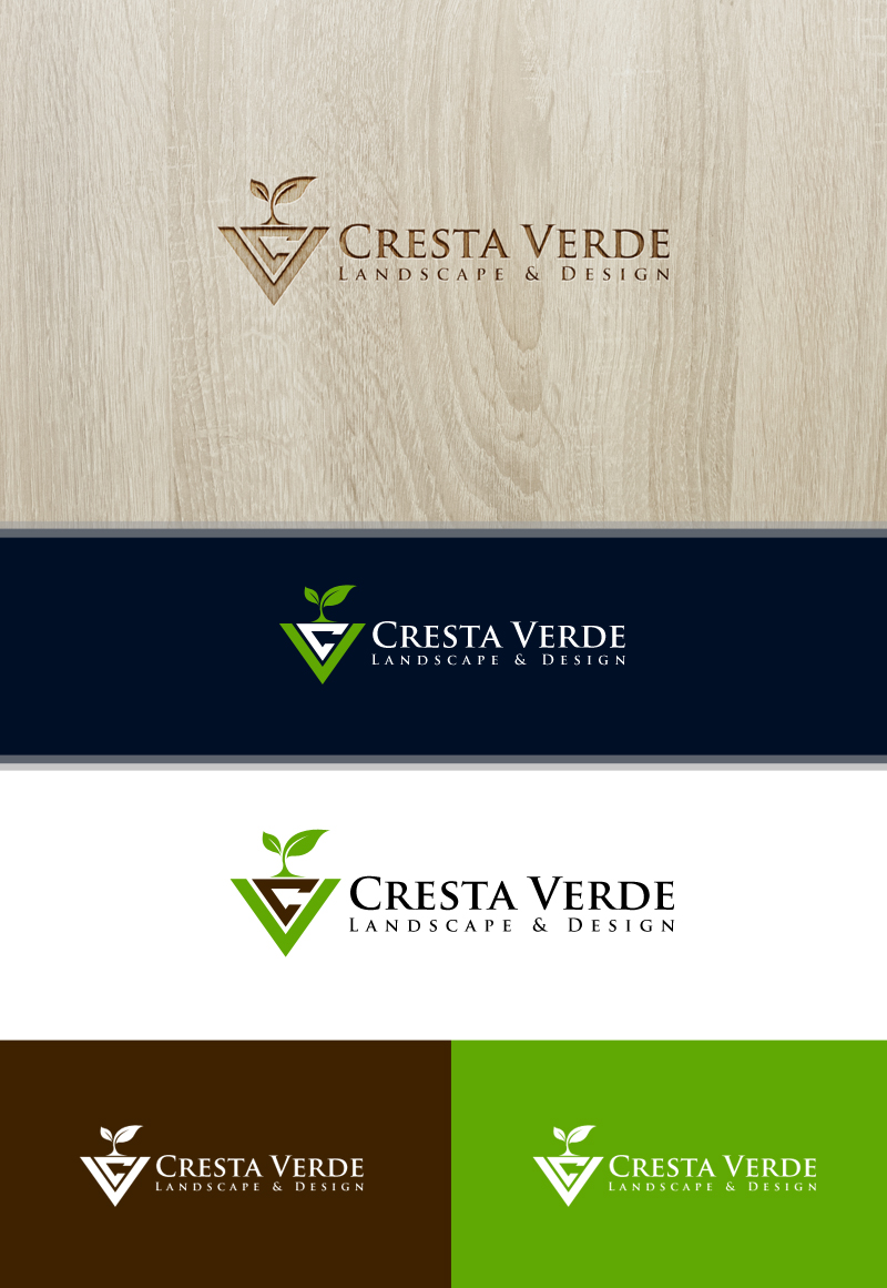 Professional, Serious Logo Design for Cresta VerDE Artisan ...