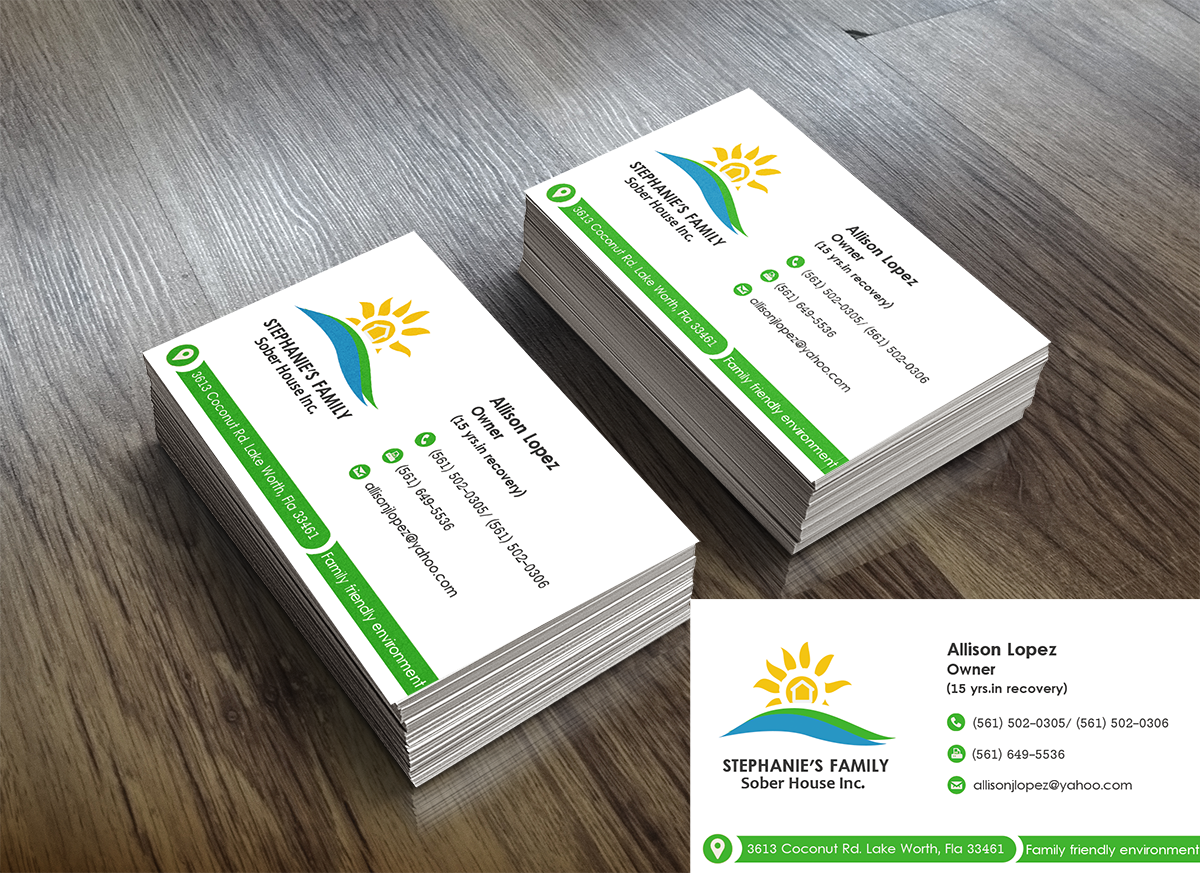 Residential Business Card Design for a Company by King Cozy | Design ...