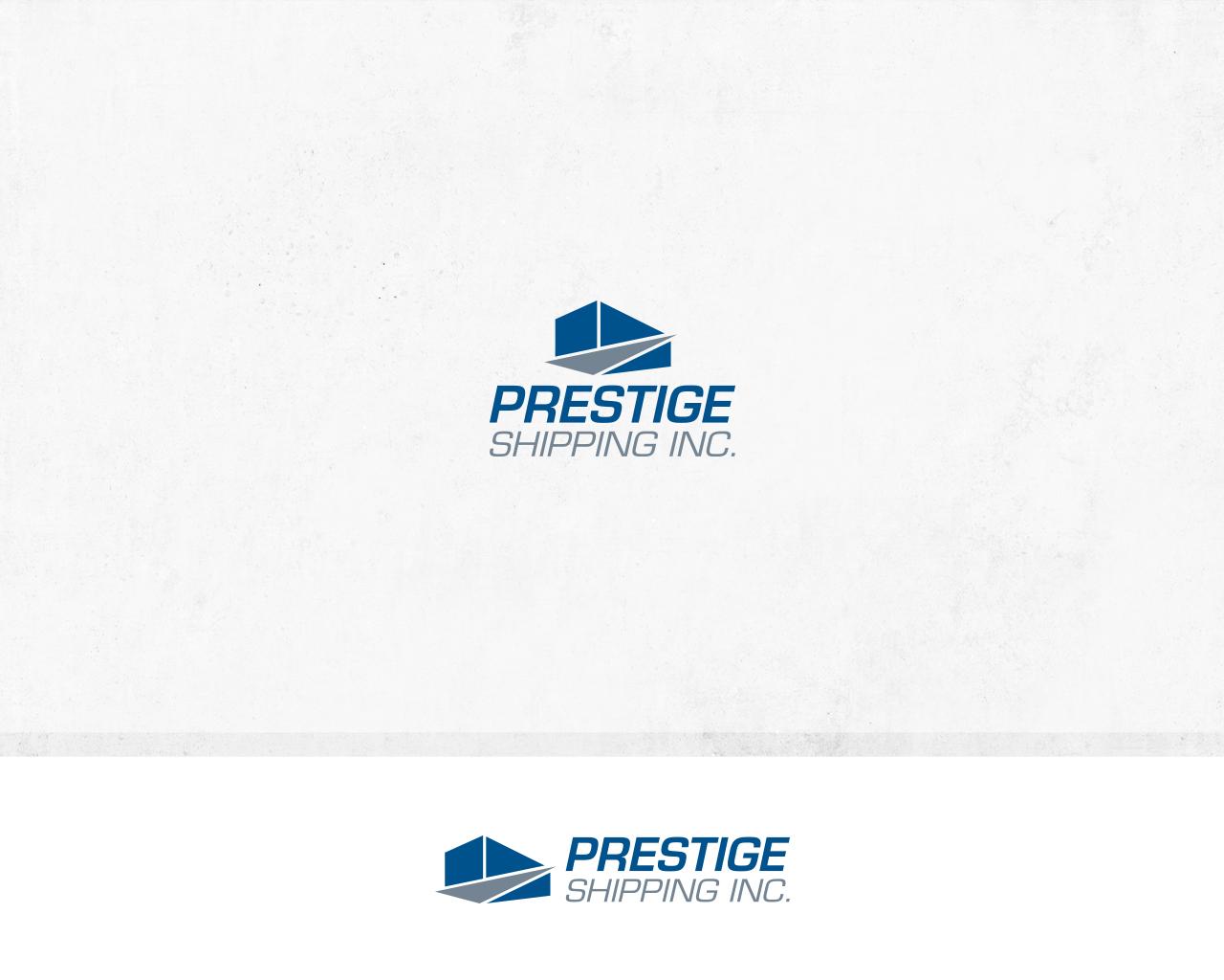 Feminine, Upmarket Logo Design for Prestige Shipping Inc. by ... for Corporate Logo Design Examples  75tgx