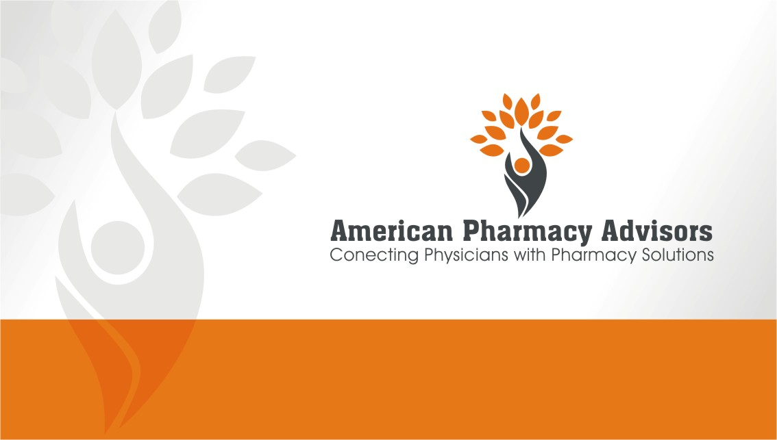 bold serious pharmaceutical logo design for company name is american pharmacy advisors and our. Black Bedroom Furniture Sets. Home Design Ideas