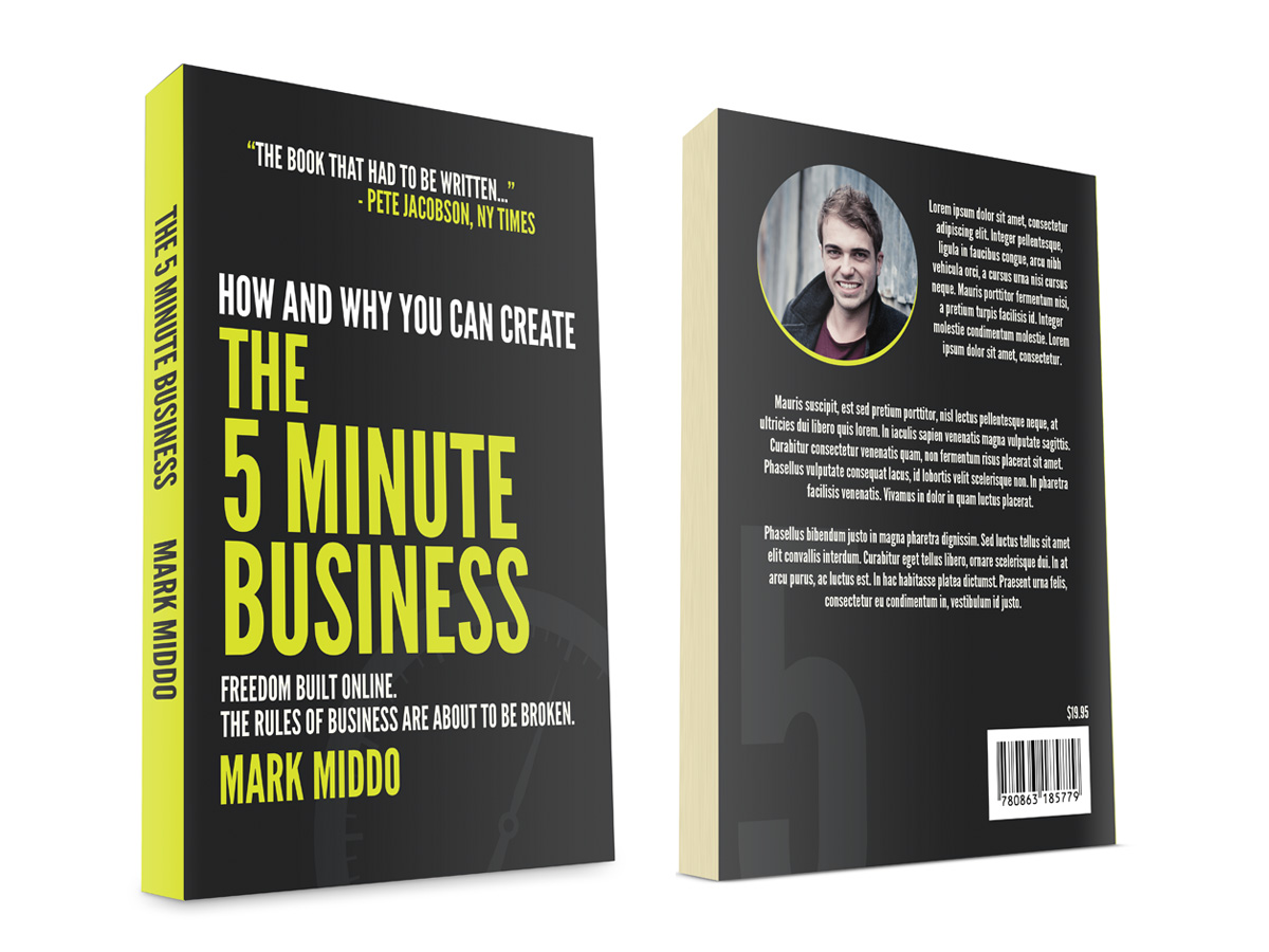 Business Book Covers : Case study how i crowdsourced my book cover design