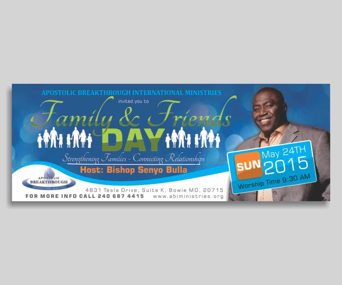 church flyer design friends seatle davidjoel co