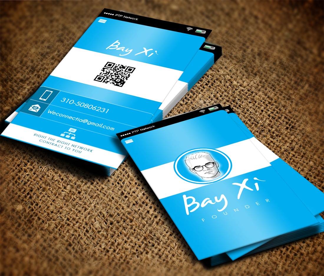 Professional, Modern Business Card Design by photograffitic ...